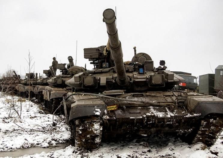 Un controllo della prontezza al combattimento della divisione Kantemirov iniziò nello ZVO