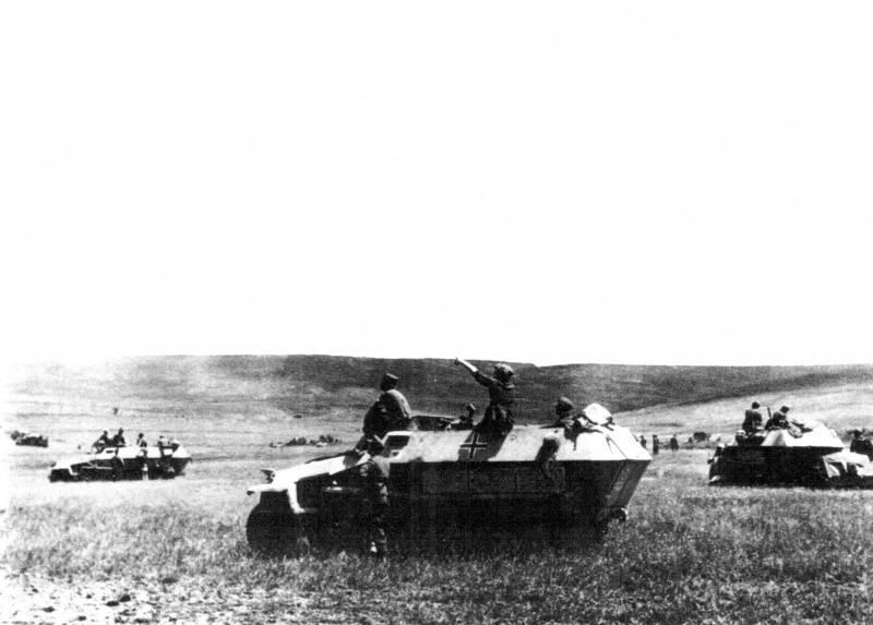 Die Erwartungen, Stalingrad einen plötzlichen Schlag zu versetzen, scheiterten