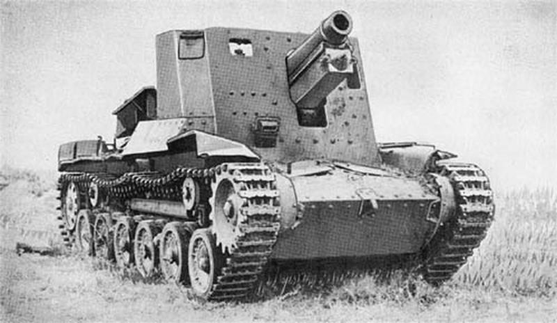 Самоходные гаубицы Второй мировой войны. Часть 13. «Хо-Ро»