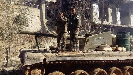 В сирийской армии обнаружен редкий танк