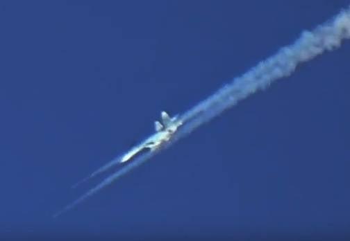 Su-30M e Su-35 vistos na Síria como aviões de ataque