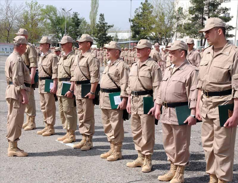 Русские итаджикистанские военные проведут общие учения