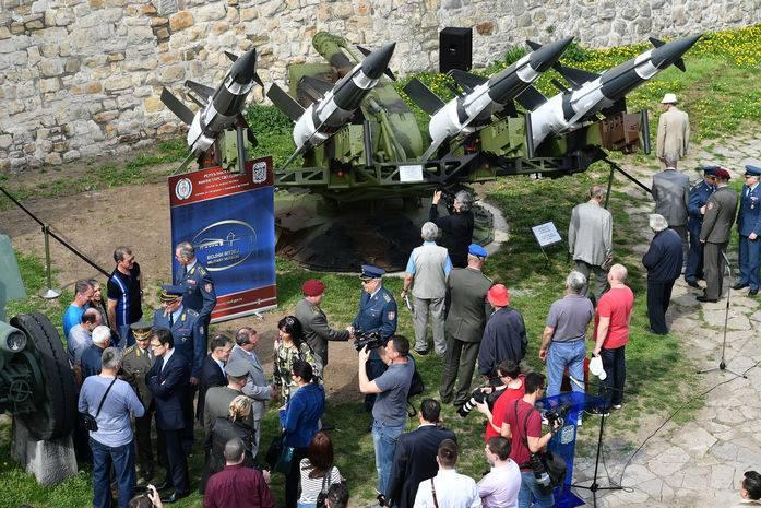 В сербском музее выставлен ЗРК, сбивший американский самолёт