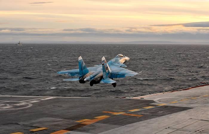 """No porta-aviões do projeto """"Storm"""" será capaz de basear-se em aeronaves 90 e helicópteros"""