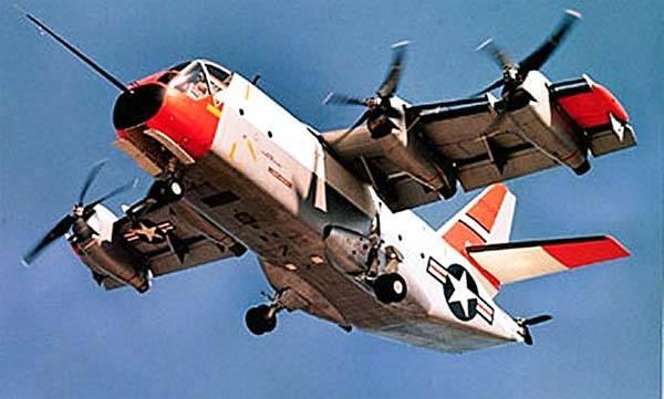 Convertiplane multiusos Ling-Temco-Vought XC-142 (EUA)