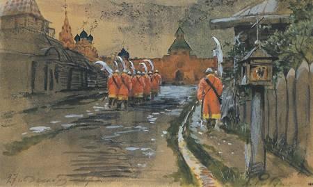Стрелецкая стража Кремля