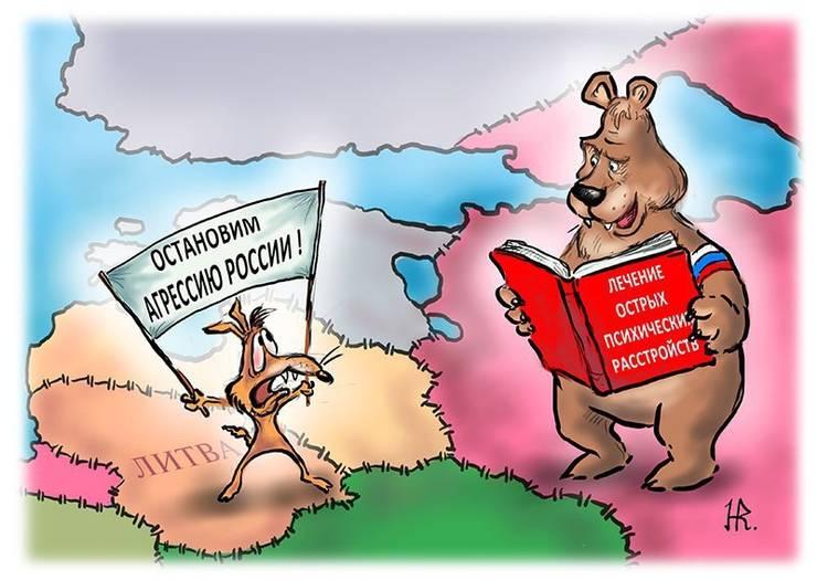 Grybauskaite nannte Russland eine Bedrohung für die ganze Welt