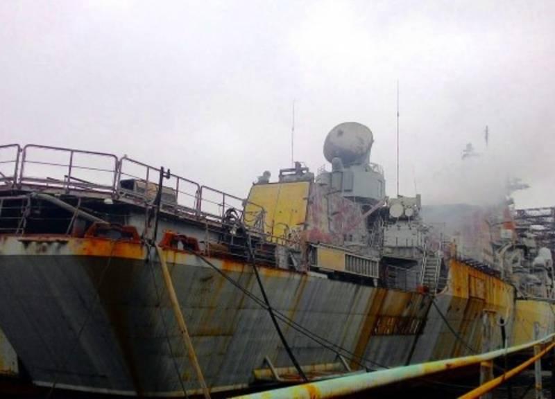 Ракетный крейсер «Украина» продадут задолги