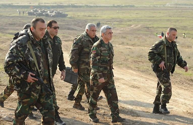 Саргсян объявил, что помере необходимости прикажет задействовать «Искандеры»