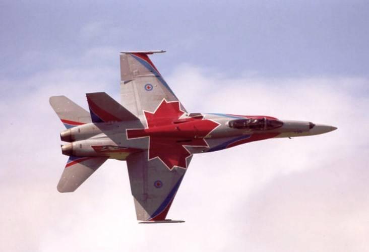 Canadá participará da patrulha do espaço aéreo europeu
