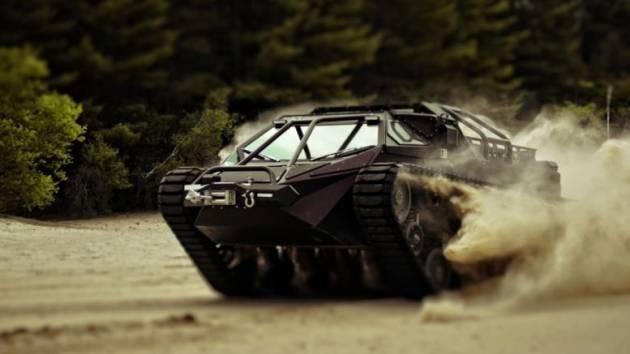 Ripsaw EV – штурмовой вездеход, непризнанный Пентагоном