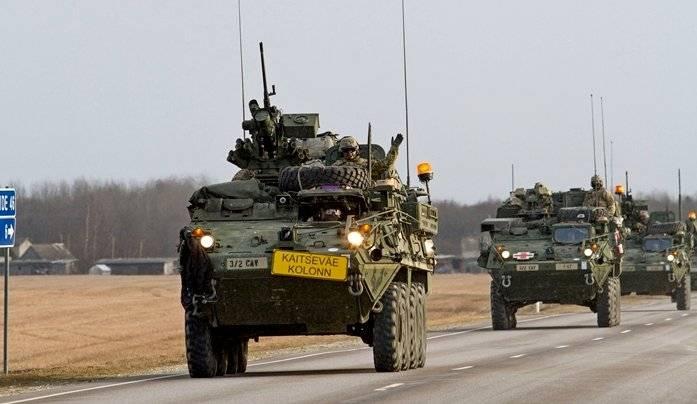 Novo reabastecimento para o batalhão da OTAN, que está sendo formado na Polônia