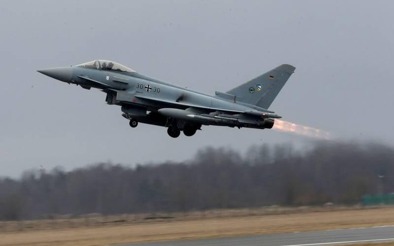 Германские истребители проведут тренировочные полеты вЭстонии