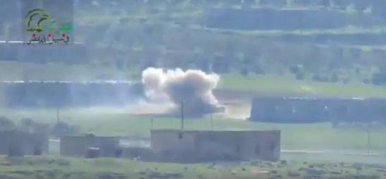 Боевики в провинции Хама используют против танков ВС САР американские TOW