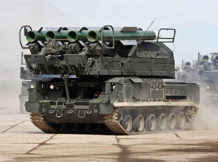 В Пензенской области заступили на дежурство комплексы «Бук-М2»