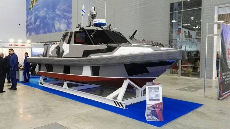 Die Petersburger Firma AME zeigte ein vielversprechendes unbemanntes Boot
