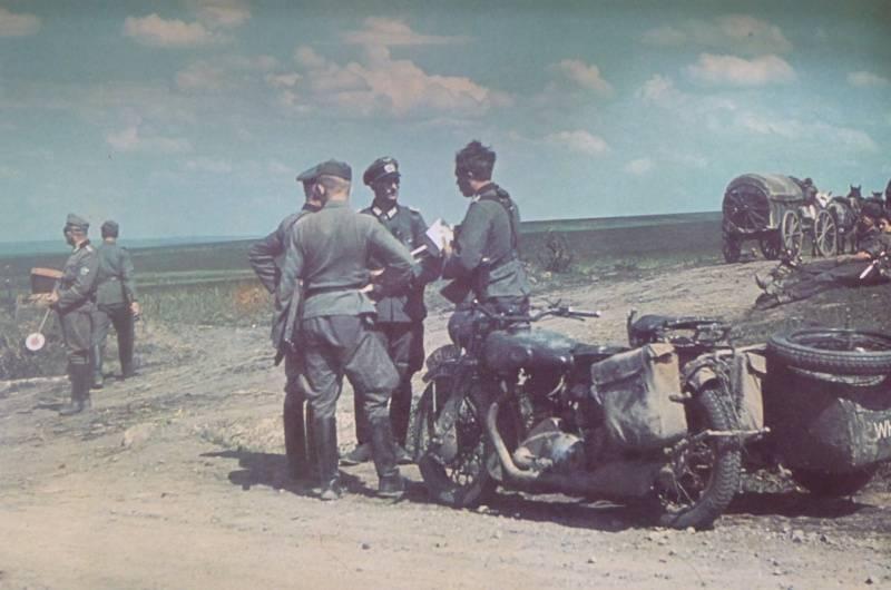 Прорыв 6-й немецкой армии к северной окраине Сталинграда