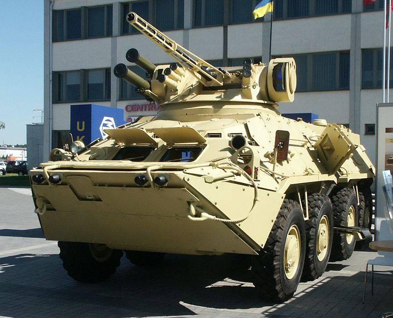 Украинский ОПК испробовал новый боевой модуль «Штурм-М»