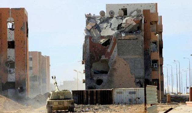 США признали, что разрушили город в Ливии и просят помочь в его восстановлении