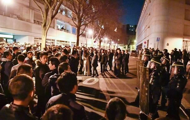Distúrbios chineses em Paris