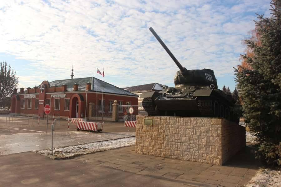 Танковое училище получило новый статус
