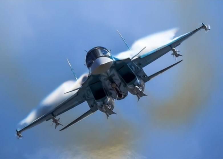 Ударные возможности Су-34 расширены за счет дальнобойных средств поражения