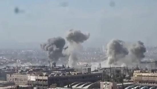 Pesanti combattimenti nella zona industriale vicino a Damasco