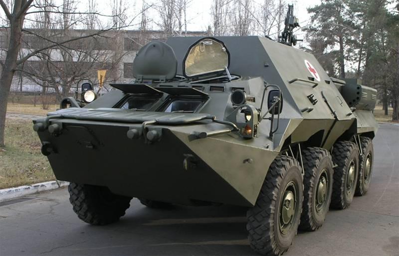 Gepanzertes Medizinfahrzeug BTR-3С (Ukraine)