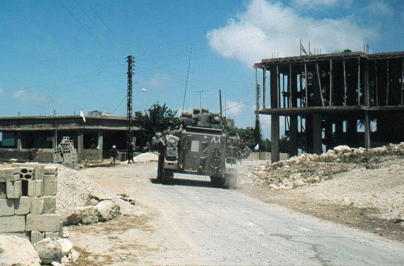¿Cómo comenzó la guerra libanesa del año 1982?