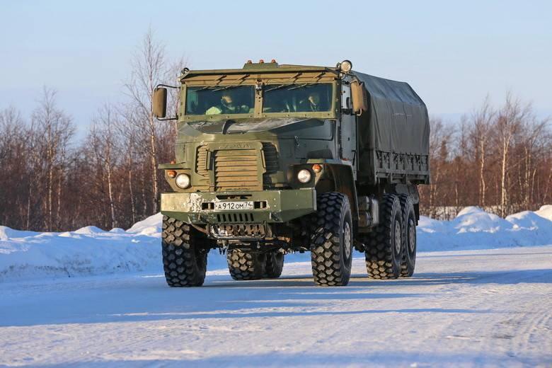 """""""Tornado-U"""": véhicule de l'armée avec charge utile accrue"""