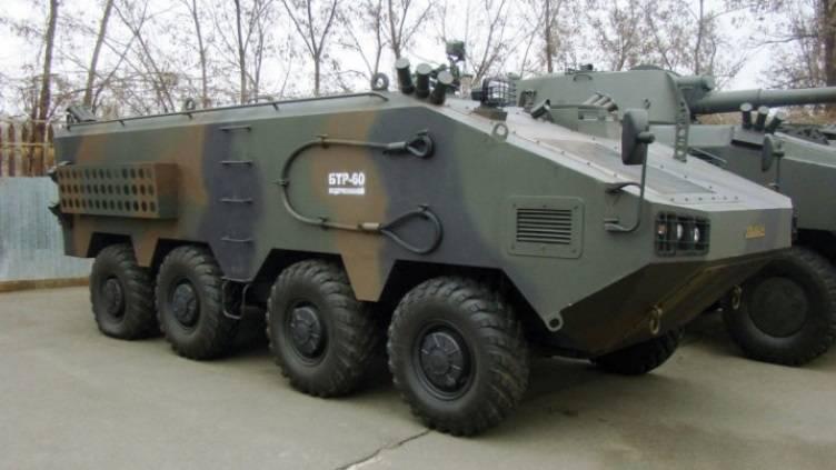 """El progreso del desarrollo del vehículo blindado ucraniano """"Otaman"""""""