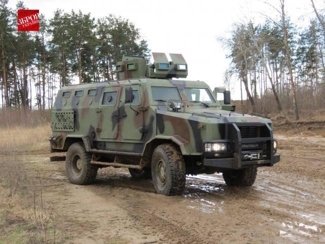 """Carro Blindado """"Kozak-2"""" adotado pela APU"""
