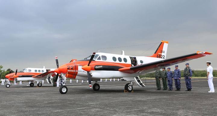 Филиппины бесплатно получили японские самолеты ТС-90