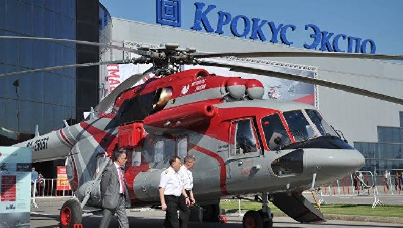 В Архангельске представят Ми-8АМТ в арктическом варианте