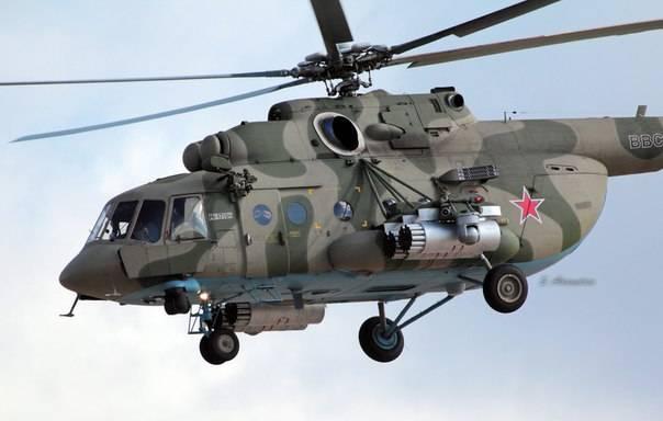 "Helicópteros de defesa complexos ""Vitebsk"" modernizam com a experiência síria"