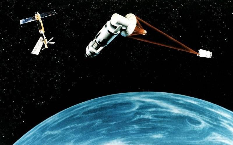 Nos EUA, apela à militarização do espaço