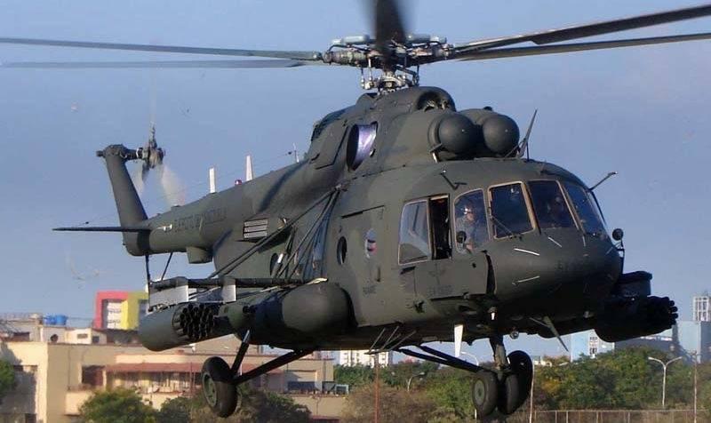 КВЗ установил многоцелевой вертолет Ми-17В-5 вКению