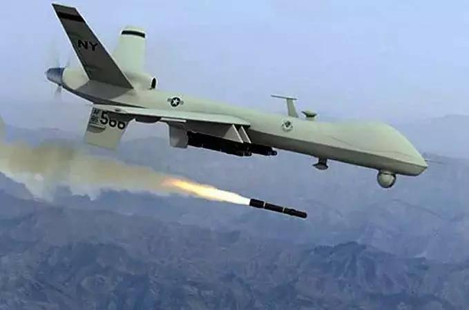 Los drones estadounidenses atacaron una serie de ataques aéreos en Yemen.