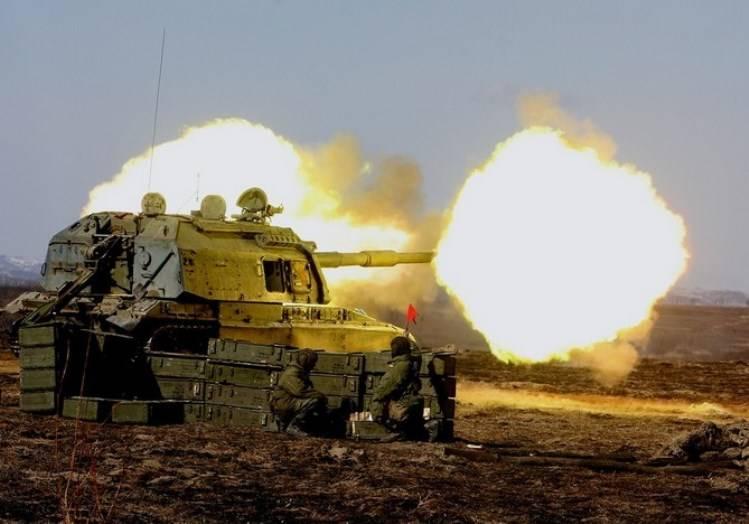 """No Distrito Militar do Sul será """"um único dia de fogo de artilharia"""""""