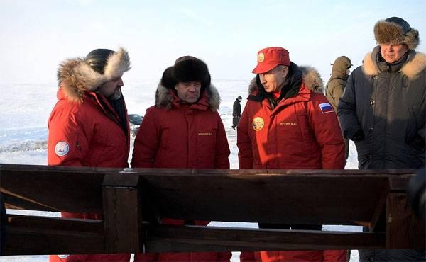 O presidente foi informado sobre a exportação de 50 mil barris enferrujados das ilhas do Ártico