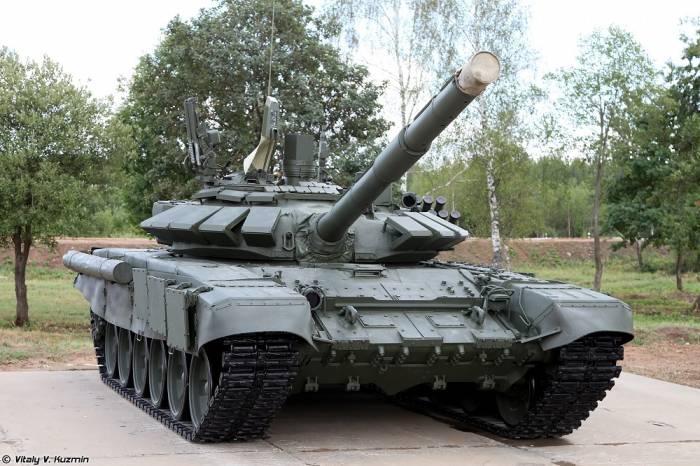 Очередная партия Т-72Б3 поступила на вооружение 1-ой танковой армии