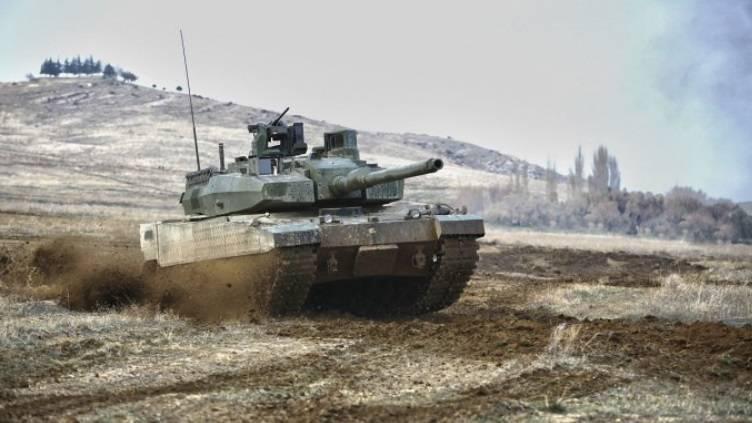 Турция завершила испытания основного боевого танка Altay