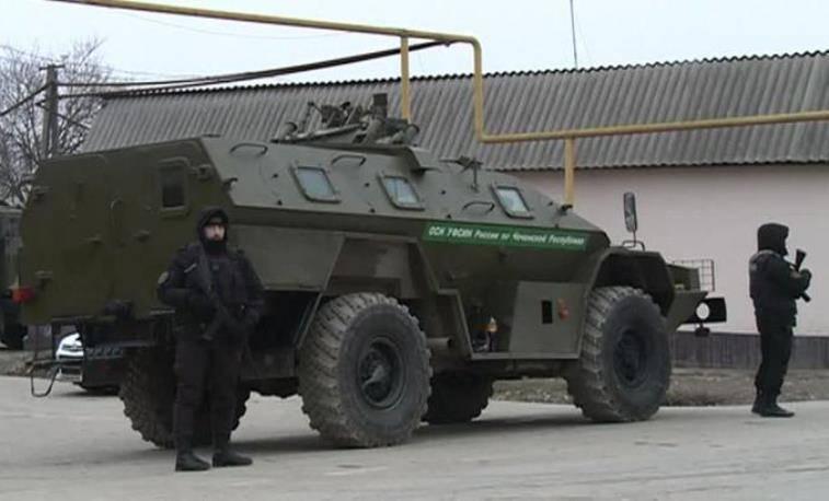 В горах Чечни уничтожены два боевика