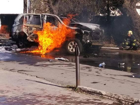 В Мариуполе взорвали замначальника СБУ