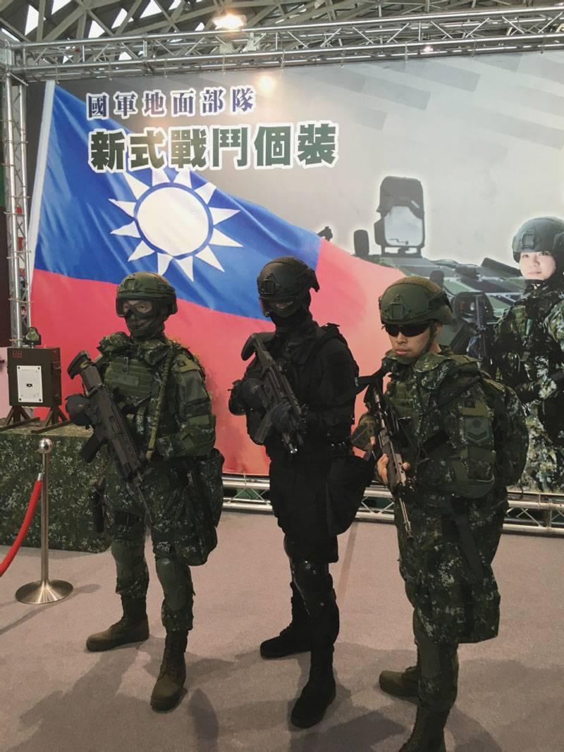Боевая экипировка следующего поколения вооруженных сил Тайваня