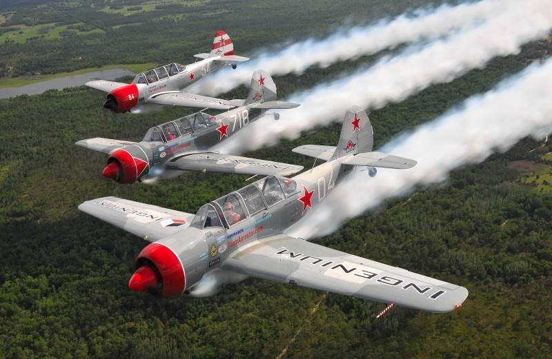 «Яки» первоначального обучения: многим летчикам дорогу в небо открыли самолеты Яковлевского КБ