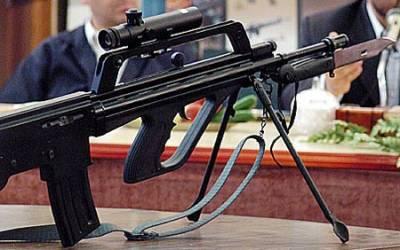 Оружие. Иранский автомат Khaybar KH 2002