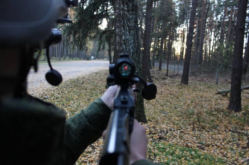Оружие. Коллиматорный прицел ПК-12