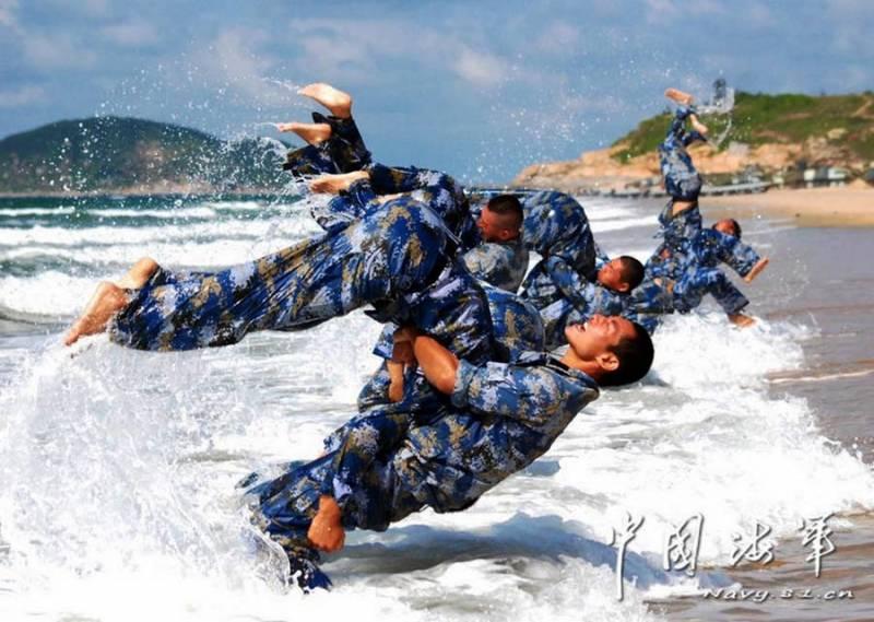 НОАК увеличит численность морской пехоты в 4 раза