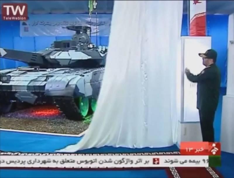 Основной боевой танк «Каррар» (Иран)